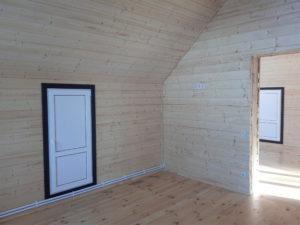 Интерьер и дизайн блок хауса