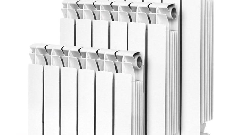 количество секций радиаторов
